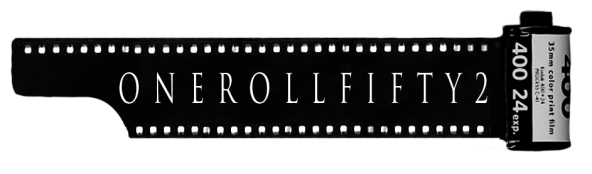 Logo of my project to shoot one roll of film every week for one year