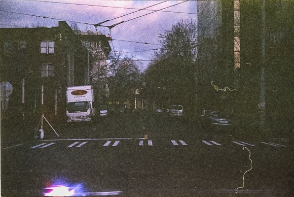 City Streets on Expired Kodak Gold Film